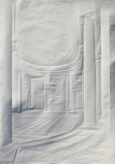 Paper works by Simon Schubert - Dezeen | Machinimania | Scoop.it