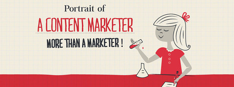 Portrait of a Content Marketer [INFOGRAPHIC] | Content Marketing & Content Strategy | Scoop.it