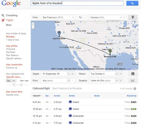 More Options for Google Flight Search | Google Sphere | Scoop.it