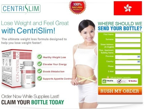 CentriSlim Review – Shed Unwanted Pounds and Boost Energy Level | Get Reduced To Enjoy More | Scoop.it
