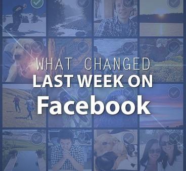 What happened on Facebook last week | Social Media Marketing | Scoop.it