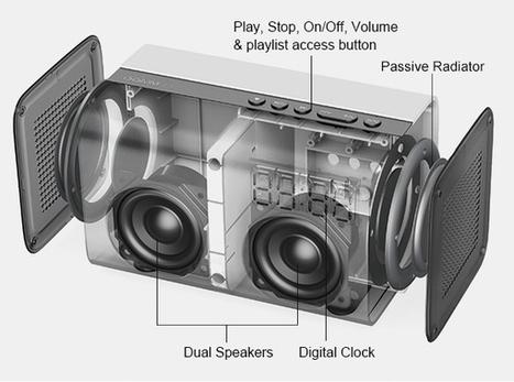 GGMM E3, l'enceinte multiroom qui se passe de votre smartphone pour lire la musique en streaming   ON-ZeGreen   Scoop.it