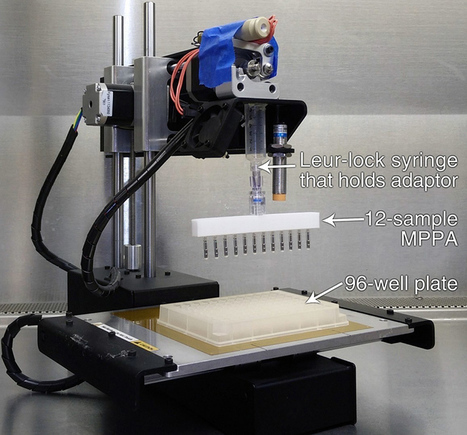 3D Printer Hacked to Perform Fast and Cheap DNA Sequencing  | 3D Virtual-Real Worlds: Ed Tech | Scoop.it