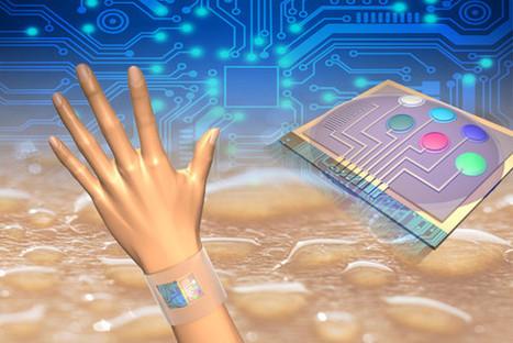 Sensores en la piel miden los cambios químicos del sudor en tiempo real   Promoción de la salud en el trabajo   Scoop.it