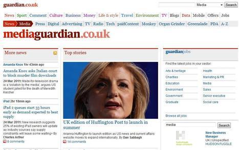 Media Guardian   Top sites for journalists   Scoop.it