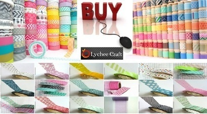 Fabric Washi Tape Craft Ideas and Know More Uses | Washi Tape | Scoop.it