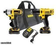 DEWALT DCK211S2 10.8V LITHIUM ION TWIN KIT DCD710 DRILL & DCF815 IMPACT NEW | Best Product Reviews | Scoop.it