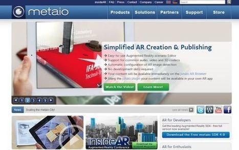 Metaio lanzará nueva plataforma de producción de aplicaciones de realidad aumentada | Recull diari | Scoop.it