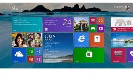 Microsoft revoit l'ergonomie de Windows 8   Veille STI2D Système Information Numérique   Scoop.it
