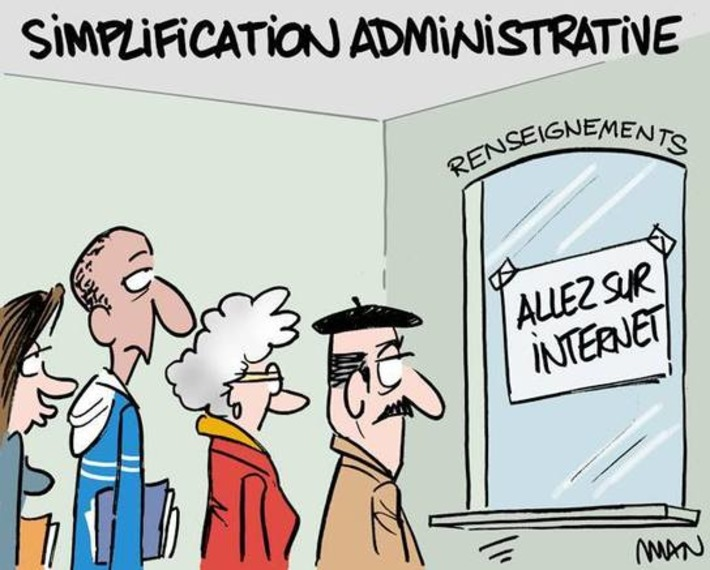 Simplification administrative | Baie d'humour | Scoop.it