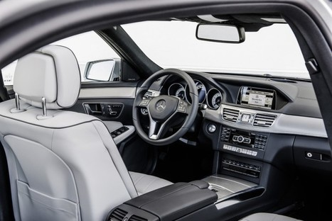 2014 Mercedes-Benz E-Class Interior – TopIsMagazine | Mercedes-Benz | Scoop.it