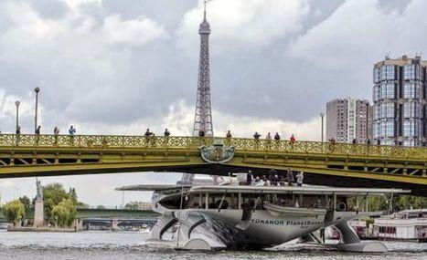 El barco solar más grande del mundo acaba en París su segunda misión | Fotovoltaica  Solar-Térmica | Scoop.it