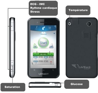 Télémédecine : LifeWatch V, le smartphone orienté e-santé - Le portail d'information sur les technologies pour l'autonomie | le monde de la e-santé | Scoop.it