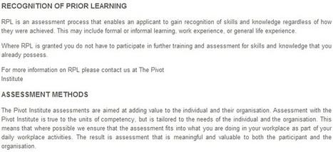 Diploma in Management Online (BSB51107) | Pivot Institute | PivotInstitute | Scoop.it