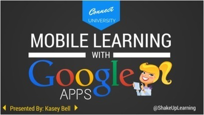 Mobile Learning with Google Apps | Educational technology , Erate, Broadband and Connectivity | Scoop.it