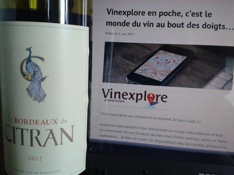 Localiser des bons #vins près de chez vous à portée de tous! | Wine and the City - www.wineandthecity.fr | Scoop.it