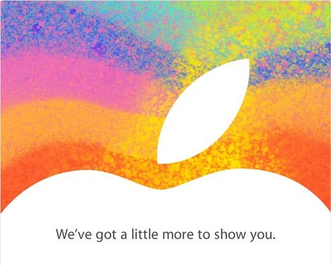 Apple Announces iPad Mini Launch Media Event On Oct 23rd | New Tech at Bohunt | Scoop.it