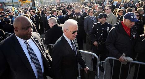 Biden at NYC police funeral: Shootings touched nation's soul | INTRODUCTION TO THE SOCIAL SCIENCES DIGITAL TEXTBOOK(PSYCHOLOGY-ECONOMICS-SOCIOLOGY):MIKE BUSARELLO | Scoop.it