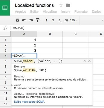 View functions in Google Sheets in your preferred language | Tools & Apps | Scoop.it