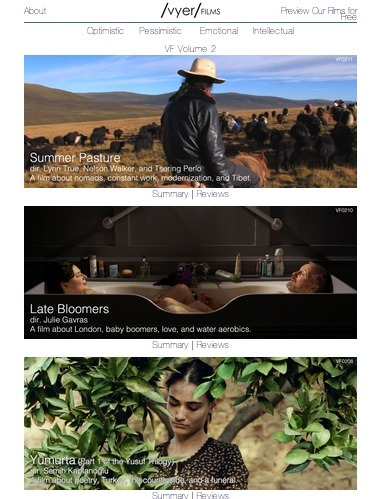 Vyer Films Finds, Curates and Streams the Best Independent Films | Transmedia Production (by Uzzi) | Scoop.it