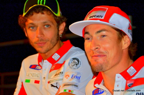 From Dream Team to Free Agent - Nicky Hayden and the American Ducati Market | Ductalk Ducati News | Scoop.it