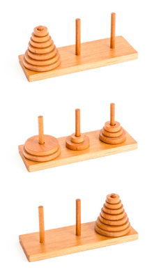 The Tower of Hanoi: Where maths meets psychology | Mathy | Scoop.it
