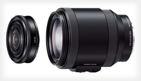 Sony Unveils Two New NEX Lenses, Full Frame Glass and Camera Coming Soon? | HDSLR | Scoop.it