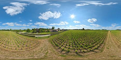 Les Sources de Caudalie au détour des vignes à Martillac  -  France par Pascal Moulin Photographe - Panorama 360 x 180° au mât télescopique (hauteur 5 mètres) | moulin360panoramic | Scoop.it