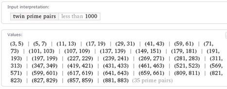 Βρέθηκε νέο ζεύγος δίδυμων πρώτων αριθμών | e-ΦΥΣΙΚΗ | Scoop.it