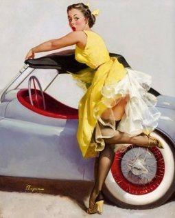 Vintage Pin Up Girls Of Gil Elvgren Gallery13 | Rockabilly | Scoop.it