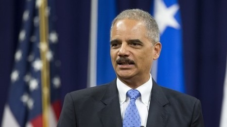 With Holder In The Lead, Sentencing Reform Gains Momentum | STAND | Scoop.it