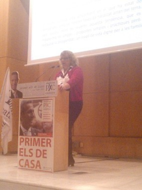 Jackie Griffin speaks at Plataforma per Catalunya election rally | The Indigenous Uprising of the British Isles | Scoop.it