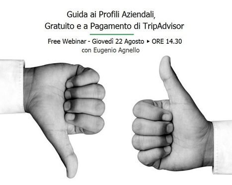 Free Webinar per Hotel: Guida ai Profili Aziendali, Gratuito e a Pagamento di TripAdvisor | B&B Marketing Tools | Scoop.it