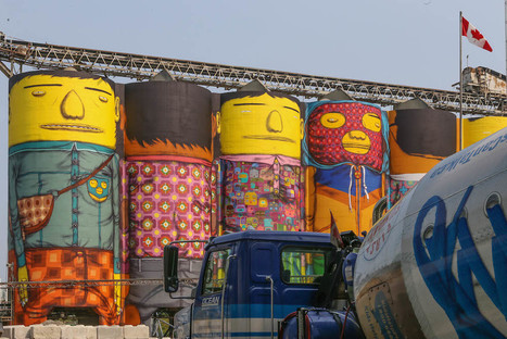 """Os Gêmeos :: The """"Giants"""" Project Hits Vancouver 