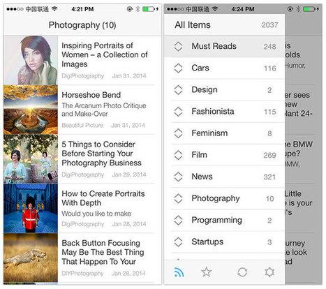 Ziner, un lecteur RSS optimisé pour iOS   RSS Circus : veille stratégique, intelligence économique, curation, publication, Web 2.0   Scoop.it