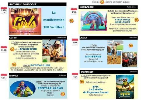 LES SEMAINES MAGIQUES ! - Piau Engaly, Vacances au ski Pyrénées | PIAU-ENGALY Animation | Scoop.it