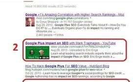 Google+ & SEO: How Google+ Impacts Search Results - Search Engine Watch | ENTERTAINMENT | Scoop.it