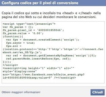 Monitoraggio delle conversioni per le inserzioni di Facebook (news) | Facebook Daily | Scoop.it