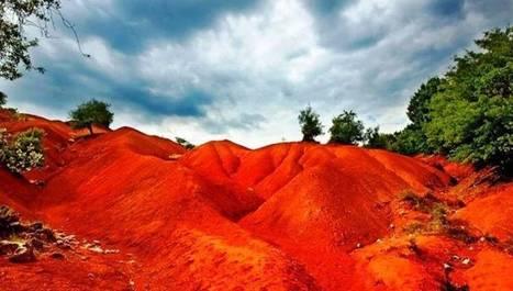 Η «κόκκινη γη»: Ένα μοναδικό «θαύμα» της φύσης που βρίσκεται στη χώρα μας! (φωτό & βίντεο) | ΚΟΣΜΟ - ΓΕΩΓΡΑΦΙΑ | Scoop.it