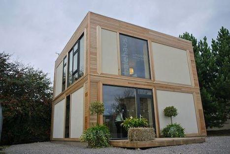 BaleHaus: la casa in calce, canapa e paglia che resiste agli uragani | Costruire con le balle di paglia www.caseinpaglia.it | Scoop.it
