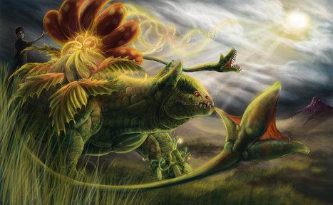 Commission Venusaur vs Grimer   Art for Art   Scoop.it