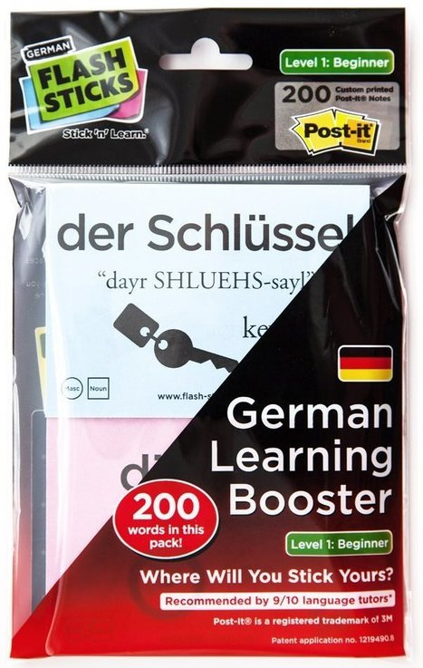 Learn German with FlashSticks - Angelika's German Tuition & Translation | Learning and Teaching Languages | Scoop.it