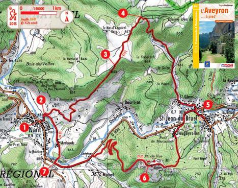 La rando du mois #2 | L'info tourisme en Aveyron | Scoop.it