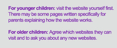 How to help your child stay safe online | for parents | NSPCC | Support for pupils and parents safety | Scoop.it
