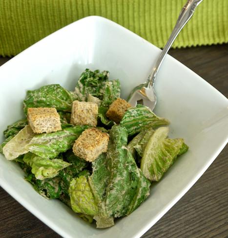 Raw Vegan Caesar Salad Dressing | My Vegan recipes | Scoop.it
