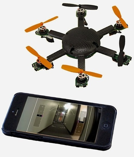 CyPhy Works' New Drone Fits in Your Pocket, Flies for Two Hours - IEEE Spectrum | Heron | Scoop.it