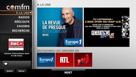 SFR Radios à la demande : un portail pour la radio en direct et en rattrapage | Clubic | Radio 2.0 (En & Fr) | Scoop.it