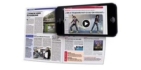 La réalité augmentée : réconciliation du web et du print ?   La réalité augmentée   Scoop.it