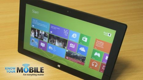 Microsoft Surface RT review | Security through Obscurity | Scoop.it
