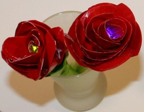 Make a Duct Tape Electric Rose | dream. design. make. | Scoop.it